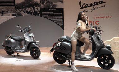 Vespa GTV 'Sei Giorni' II Edition Meluncur di Indonesia