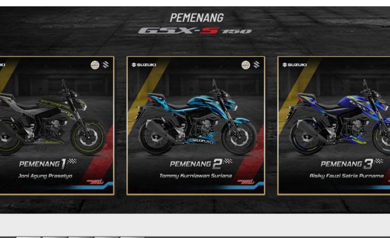 Usung Konsep Kebebasan, Modifikasi Suzuki GSX-S150 Menangi Kompetisi