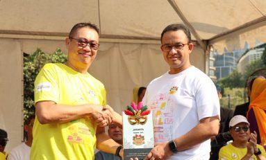 Anies Baswedan Sambangi Festival Pesona Lokal Jakarta