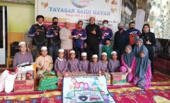 Baksos Ramadhan Bikers SIMACO Kunjungi Yayasan