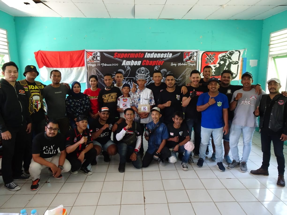 Supermoto Indonesia (SMI) Ambon Chapter Resmi Deklarasi