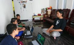 Supermoto Indonesia (SMI) Bintan Island Bikin Program 'Sekolah Gratis'