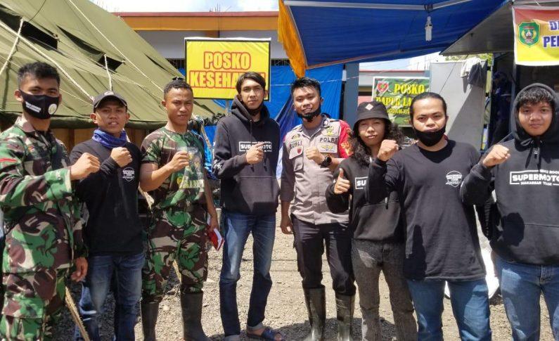 Supermoto Makassar Team (SMART) Baksos Untuk Korban Banjir Masamba