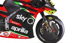 Aprilia Patenkan Suspensi Anti Dive yang Inovatif