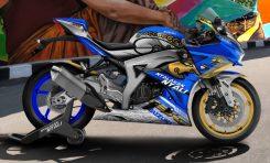 Usung Tokoh Pewayangan, GSX-R150 Juarai Kontes Modifikasi Digital Suzuki