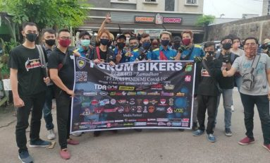 Suzuki GSX Owner Indonesia (SUGOI) Sukseskan Baksos Forum Bikers