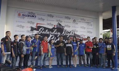 Suzuki Saturday Night Ride 2019 Berakhir di Manado