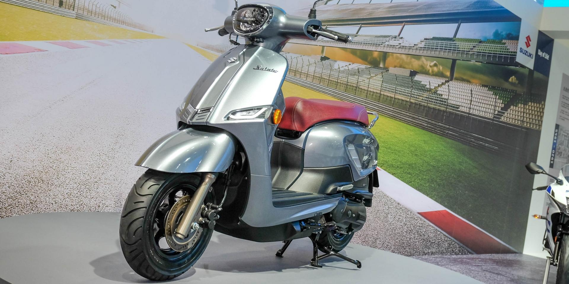Suzuki Luncurkan Saluto 125, Penantang Serius Vespa dan Lambretta?