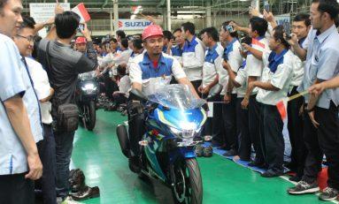 Penuhi Kebutuhan Ekspor, Pabrik Suzuki Kembali Beroperasi