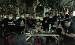 Kopdar Thunder Community Indonesia (TCI) Jakarta dengan Protokol Kesehatan