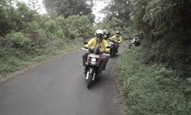 Kunjungi Pesona 9 Kota Indonesia, Skutik 125cc Yamaha Taklukkan 1.250 Km