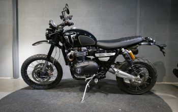 Triumph Scrambler 1200 Bond Edition Hanya 250 Unit