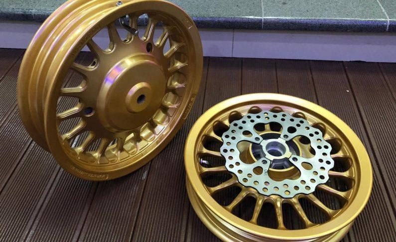 Pasang Velg VND Roullete Ring 12 Inci Bikin Tampilan Mio Makin Trendi