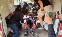 Kecelakaan Saat Latihan, Wahyu Aji Alami Cedera Serius