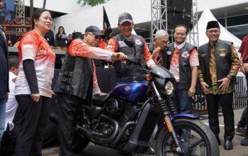 Wapres Ma'ruf Amin Mendadak Jadi Bikers