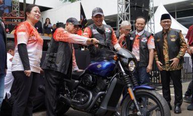 Berompi Motor Besar Indonesia, Wapres K. H. Ma'ruf Amin Jadi Biker