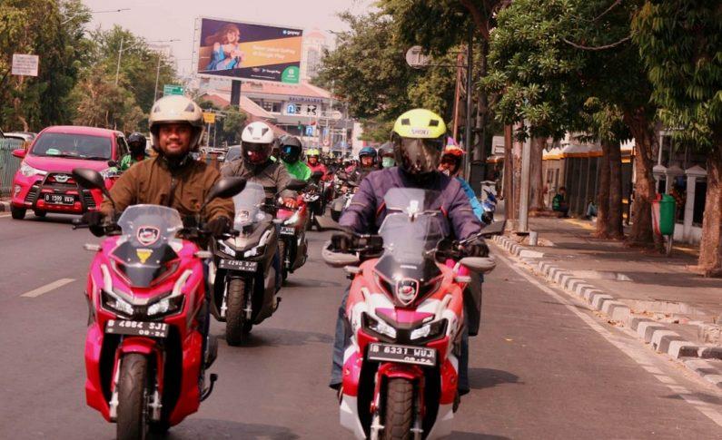 Komunitas Matic Asosiasi Honda Jakarta (AHJ) Serbu ADV150 Weekend Ride
