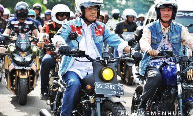 Pesan Menhub Budi Karya Untuk Bikers Pecinta Touring