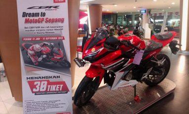 Beli Honda CBR150R Bisa Nonton Gratis MotoGP