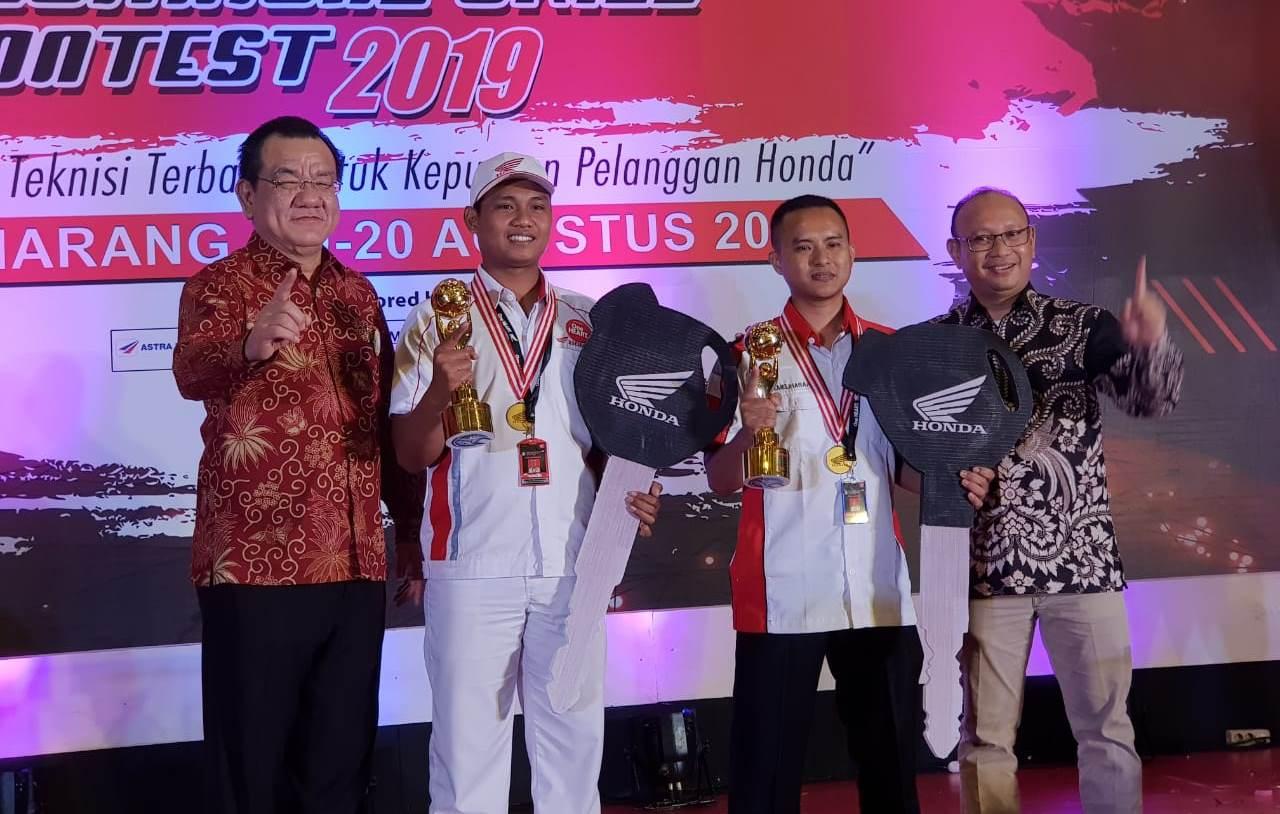 Teknisi MPM Buktikan Kualitas di Kontes Mekanik Honda