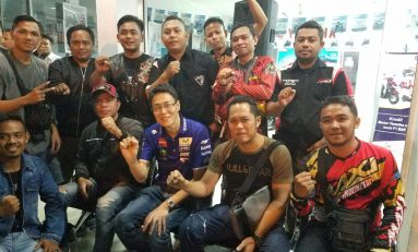 Kopdargab YRFI Gorontalo Dihadiri Petinggi Yamaha