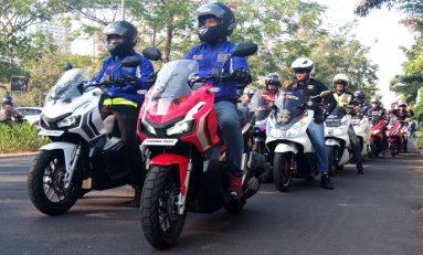 Kesempatan Perdana Paguyuban Honda Motor Bekasi Geber Honda ADV150