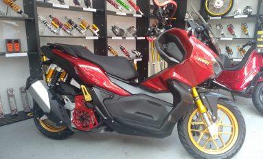 Scarlet Luncurkan Shockbreaker Untuk Honda ADV150, Vespa GTS dan Vespa LX