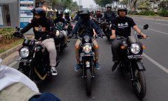 Kolaborasi Bikers Kawasaki W175 Indonesia dan My Bike My Pride Gelar City Touring