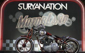 Modifikasi Harley-Davidson FXR Juarai Kontes Suryanation Motorland Makassar