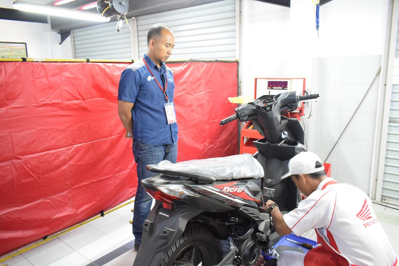 DAM Honda Gelar Kontes Mekanik Tingkat SMK di Jawa Barat