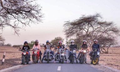 Intip Touring Perdana 7 Lady Bikers dari The Litas Jakarta
