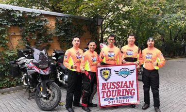 Cerita Lima Bikers Indonesia Jelajahi Rusia