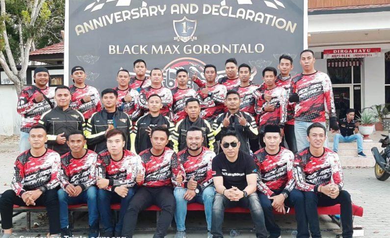 Deklarasi dan Perayaan HUT Perdana Black Max Gorontalo (BMG) Berlangsung Meriah
