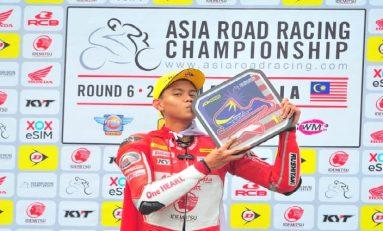 Menangi Race 1 ARRC Sepang, Irfan Ardiansyah Pimpin Klasemen Sementara AP250