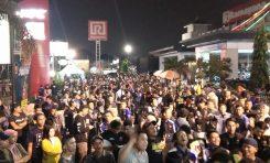 HUT ke-3 Fighter R15 Jakarta Dibanjiri Ratusan Komunitas