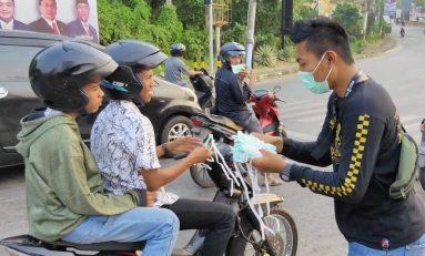 Wilayahnya Dikepung Asap, Bikers Supermoto Indonesia (SMI) Bintan Gelar Baksos