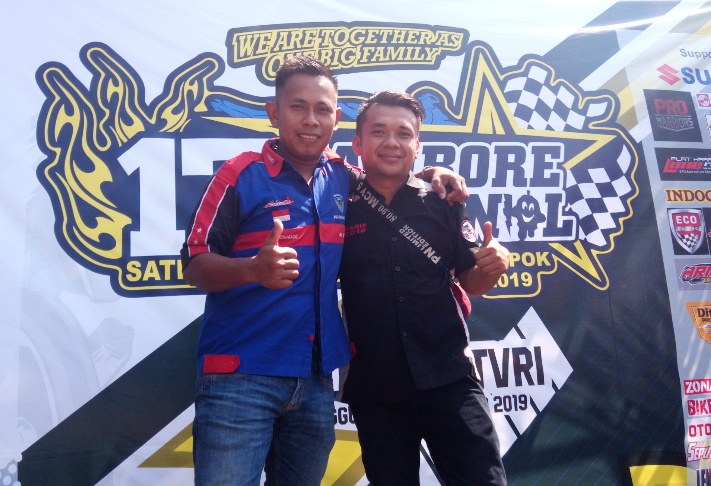 Hadiri Jamnas Satria Club Indonesia (SCI) 2019, Bikers dari Sumatera dan Kalimantan Rela Touring