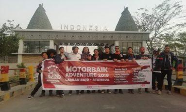 Komunitas Selebriti Motorbaik Tuntaskan Riding 1.100 KM