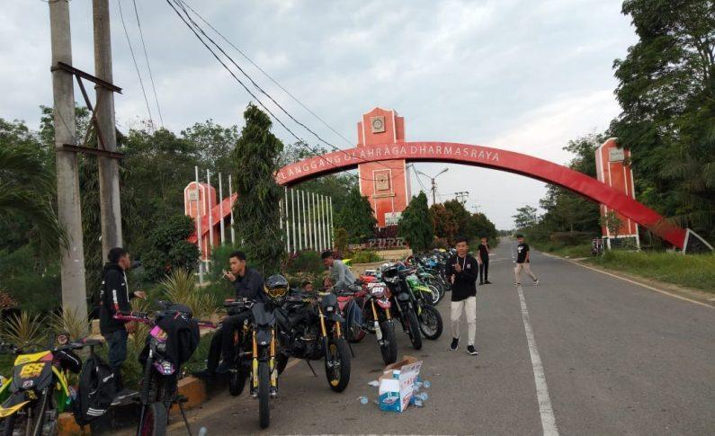 Komunitas Supermoto Indonesia (SMI) Dharmasraya Galang Dana Untuk Korban Kerusahan Wamena
