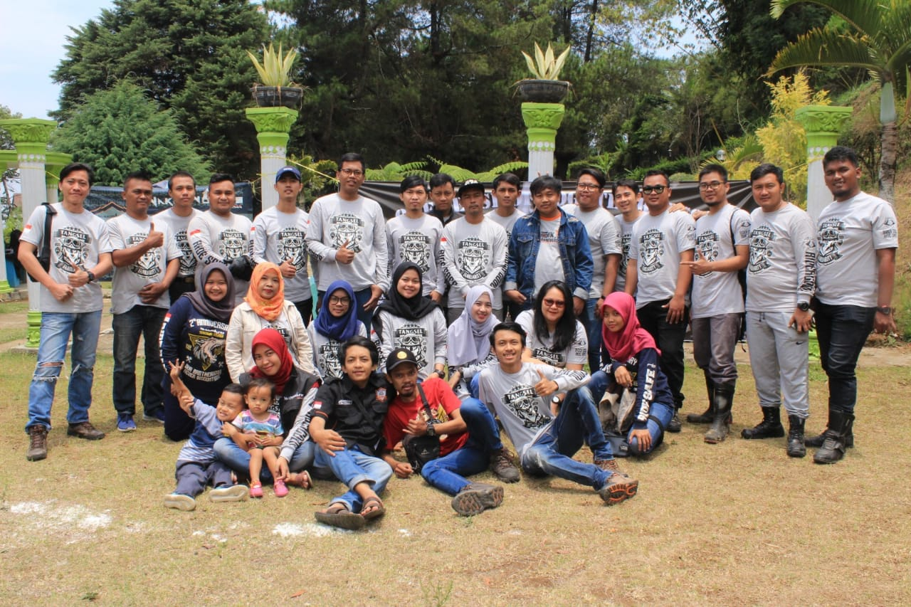Naked Wolves Indonesia (NW-ID) Tangsel Dipimpin Ketua Baru