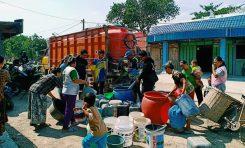 Bikers Supermoto Indonesia (SMI) Purwodadi Baksos Air Bersih Untuk Masjid dan Warga