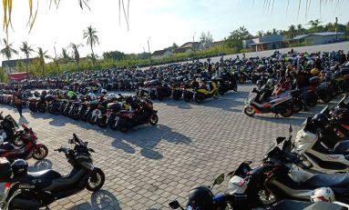 Yamaha NMax Club Indonesia (YNCI) Gelar Perayaan HUT ke-4 di Bandar Lampung