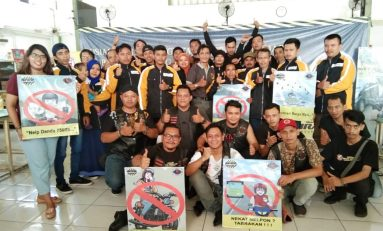 SKILL'S Jakarta Sosialisasi Pentingnya Berkendara Tanpa HP