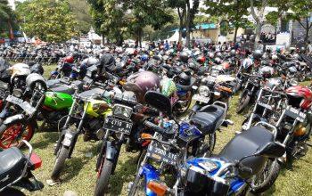 Ribuan Bikers RX-King Padati Anniversary ke-6 BM ROC