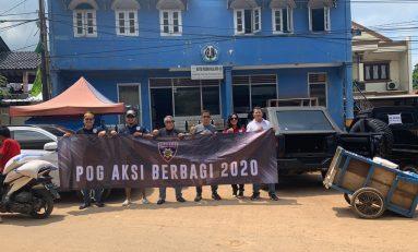 Peduli Korban Banjir, Police Owners Group (POG) Gelar Sunmori Tak Biasa
