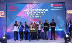Yamaha Mekar Motor Resmikan Bengkel Premium Terbesar di Cibinong