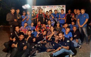 Syukuran HUT ke-2 SSFC Balikpapan Disaksikan Ratusan Bikers