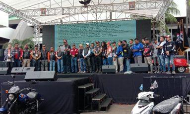 Deklarasi IBBU, Bikers Indonesia Tegaskan Komitmen Empat Pilar MPR RI