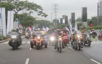 Galeri Foto: Saat Empat Pilar MPR RI Satukan Ribuan Bikers Tanah Air