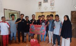 Syukuran HUT ke-4, SSFC Muara Badak Bagi-bagi Rezeki ke Panti Asuhan